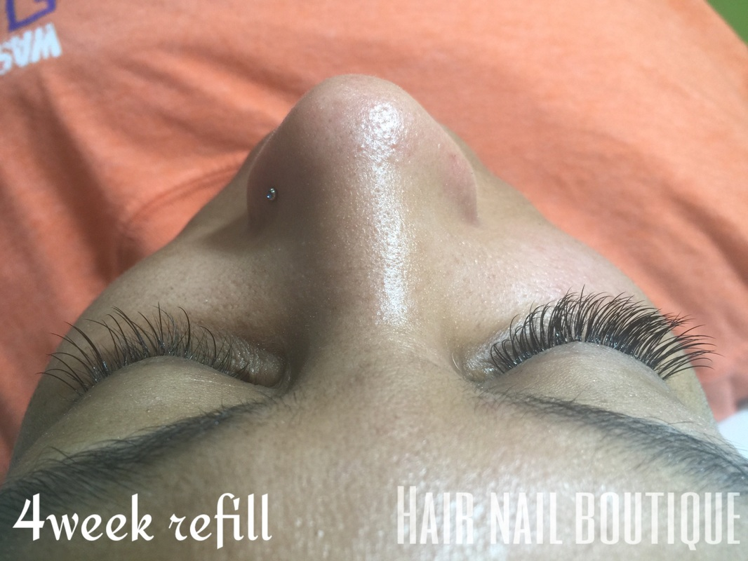 Eyelash 4 Week Refill Hair Nail Boutique