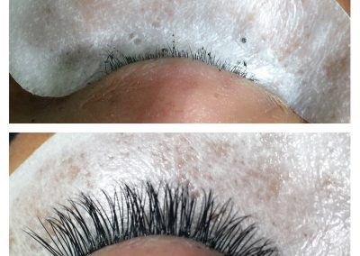 eyelash extension before and after falls church